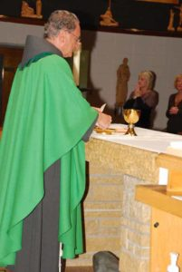 COVID Spiritual Resources - Fr. Jim saying Mass