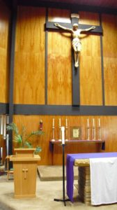 Lenten Days of Prayer - Chapel Crucifix