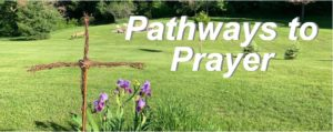 Pathways to Prayer - Cross and flowers